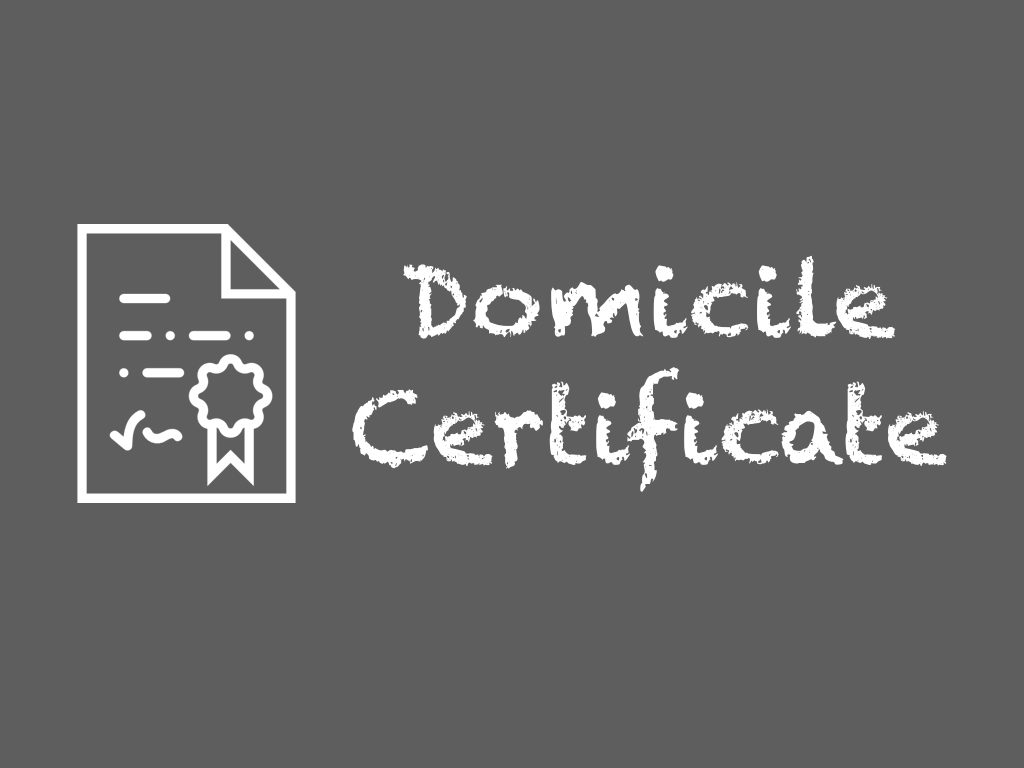 How to apply for Domicile Certificate Online in UP